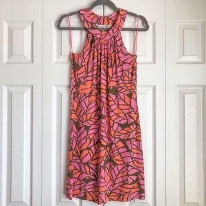 Trina Turk | Halter Tank Dress Tropical Print